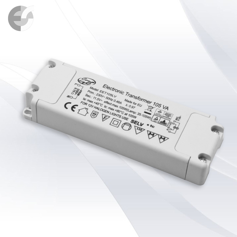 Трансформатор за халогенни лампи 105W(330105)