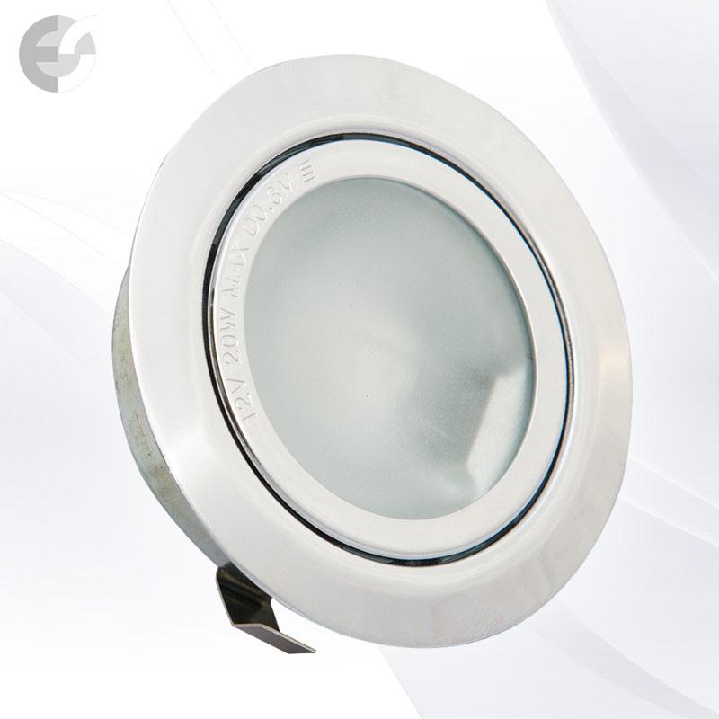 Луна - стационарна мебелна хром От Електро Стил ООД