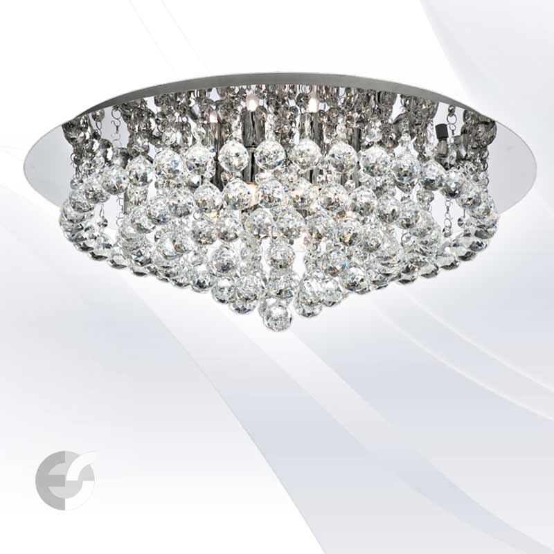 Plafoniere cristal HANNA 3408-8CC