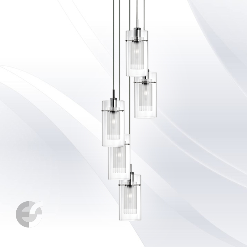 Lustra - corpuri de iluminat Duo II 2305-5