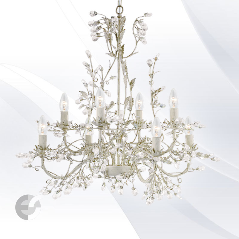 Lustra - corpuri de iluminat ALMANDITE 2498-8CR