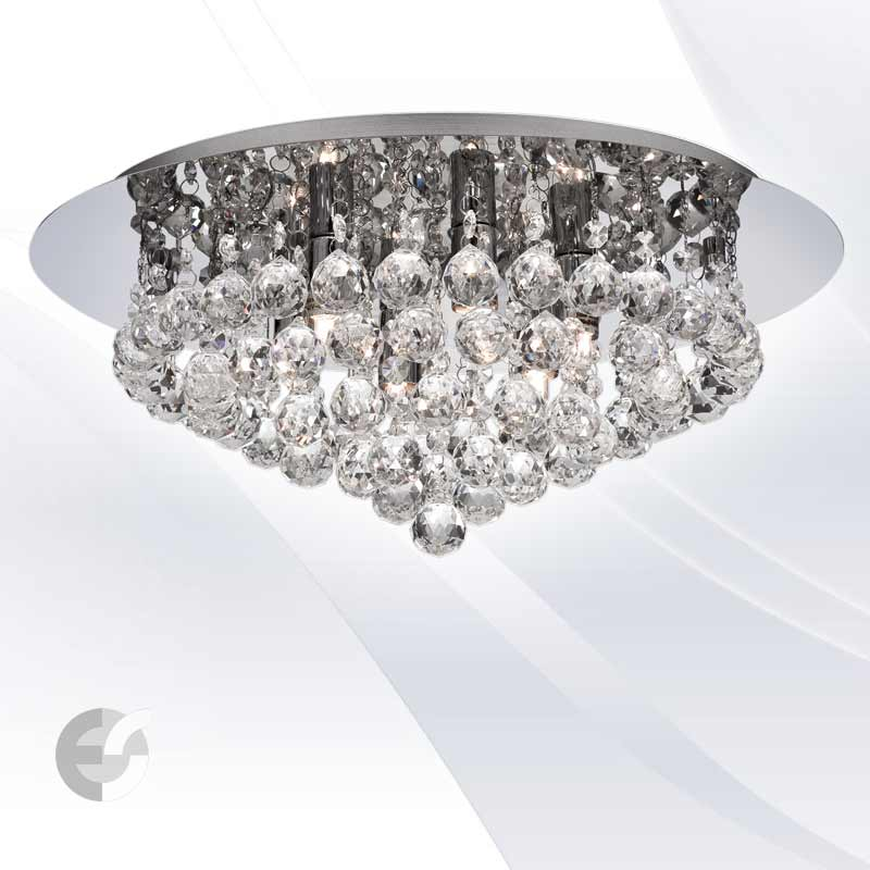 Plafoniere cristal HANNA 3406-6CC