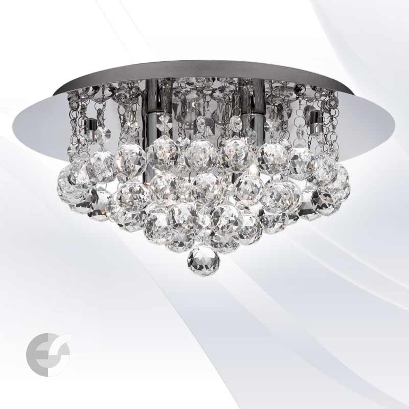 Plafoniere cristal HANNA 3404-4CC