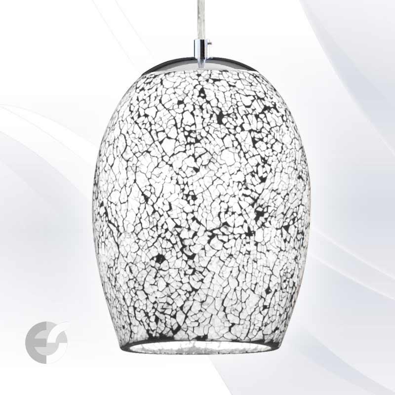 Lustra - corpuri de iluminat CRACKLE 8069WH