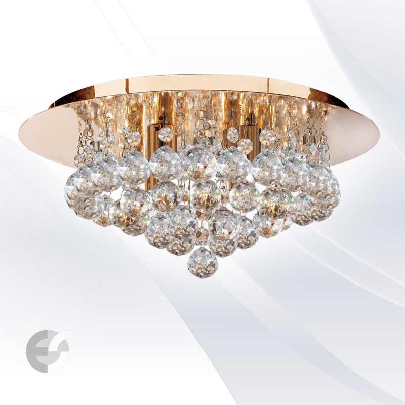 Plafoniere cristal HANNA 3404-4GO