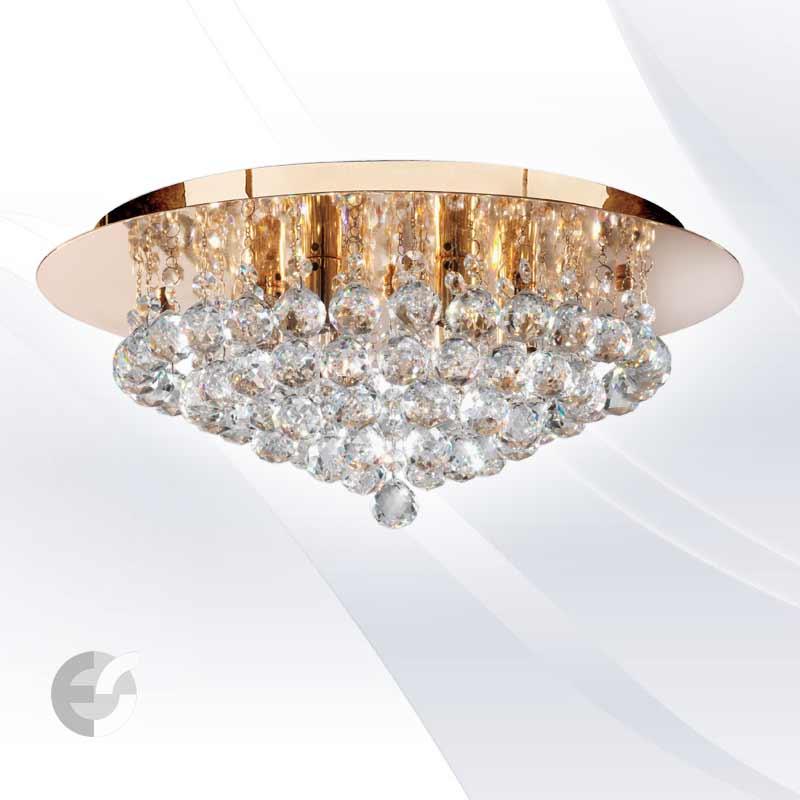 Plafoniere cristal HANNA 3406-6GO
