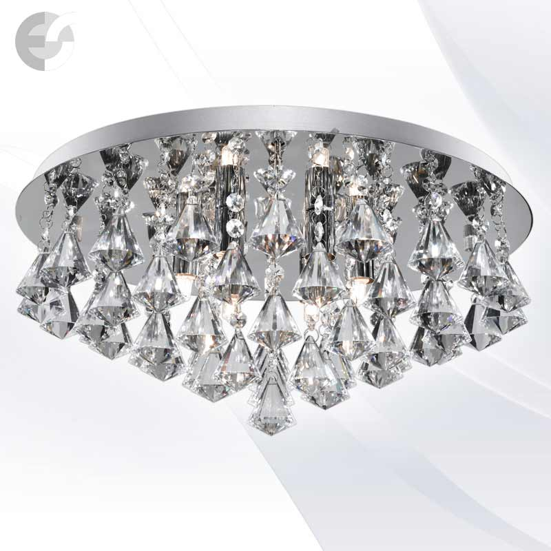 Plafoniere cristal HANNA 3308-8CC