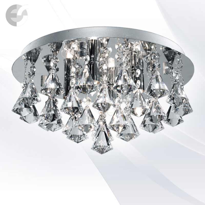 Plafoniere cristal HANNA 3304-4CC