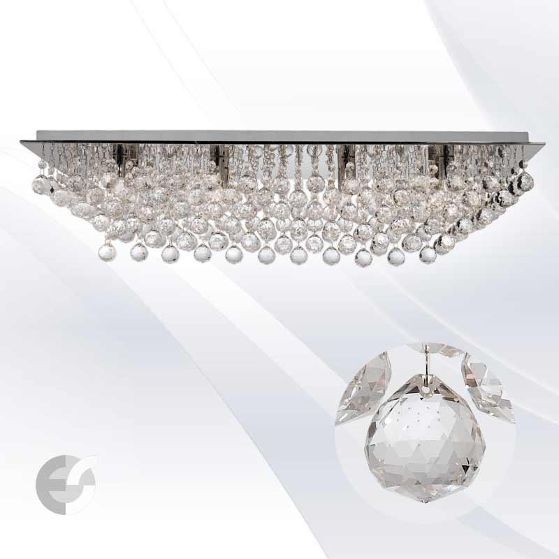 Plafoniere cristal HANNA 6728-8CC