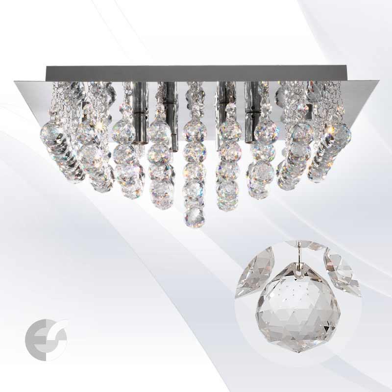 Plafoniere cristal HANNA 6408-8CC