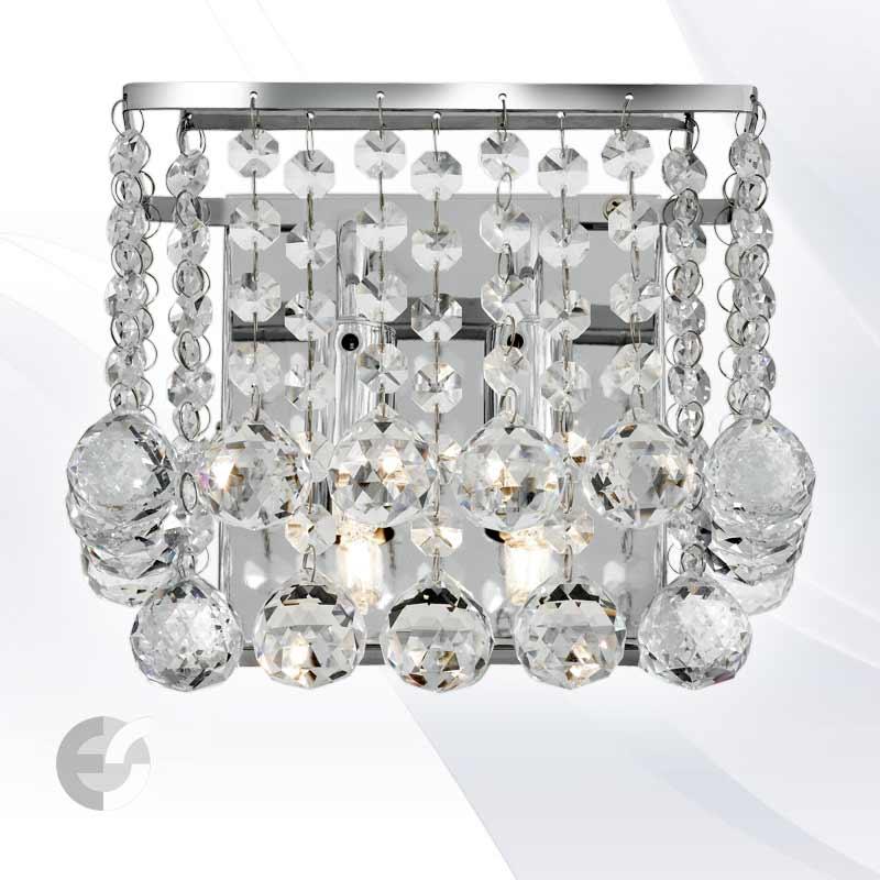 Aplica cristal HANNA 5402-2CC