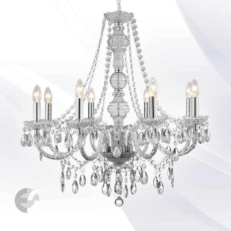 Lustra - corpuri de iluminat MARIE 8888-8CL
