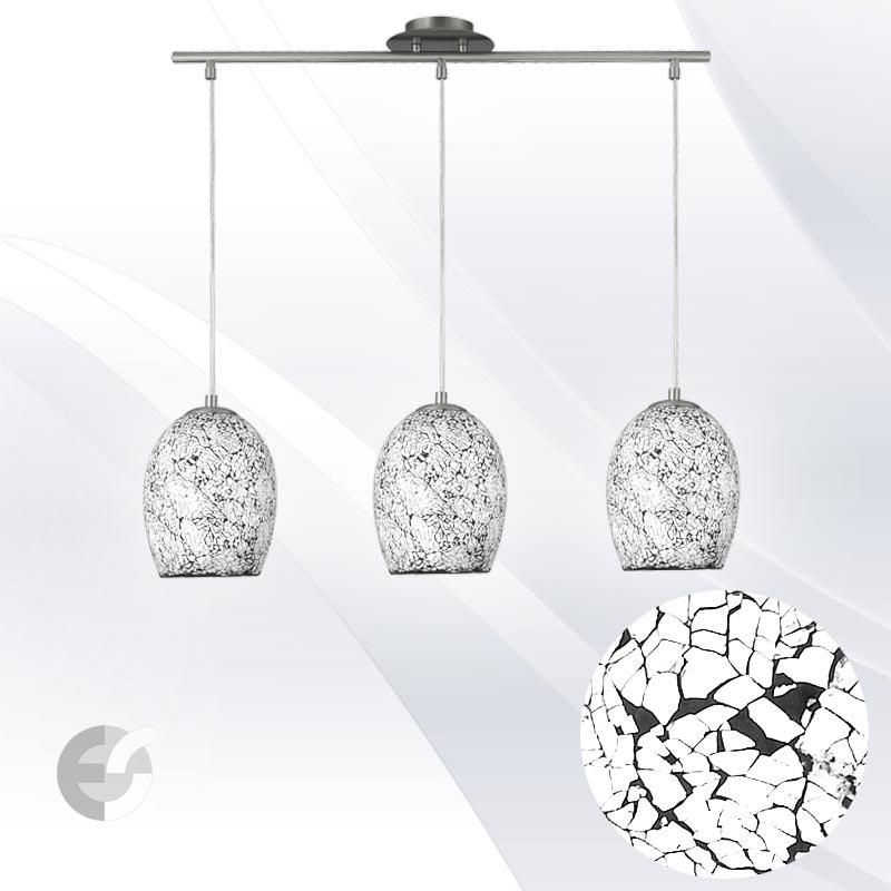 Lustra - corpuri de iluminat CRACKLE 8069-3WH