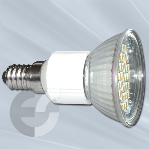 89506 Крушка 44хSMD-LED E14 45гр 3W/2700  От Електро Стил ООД