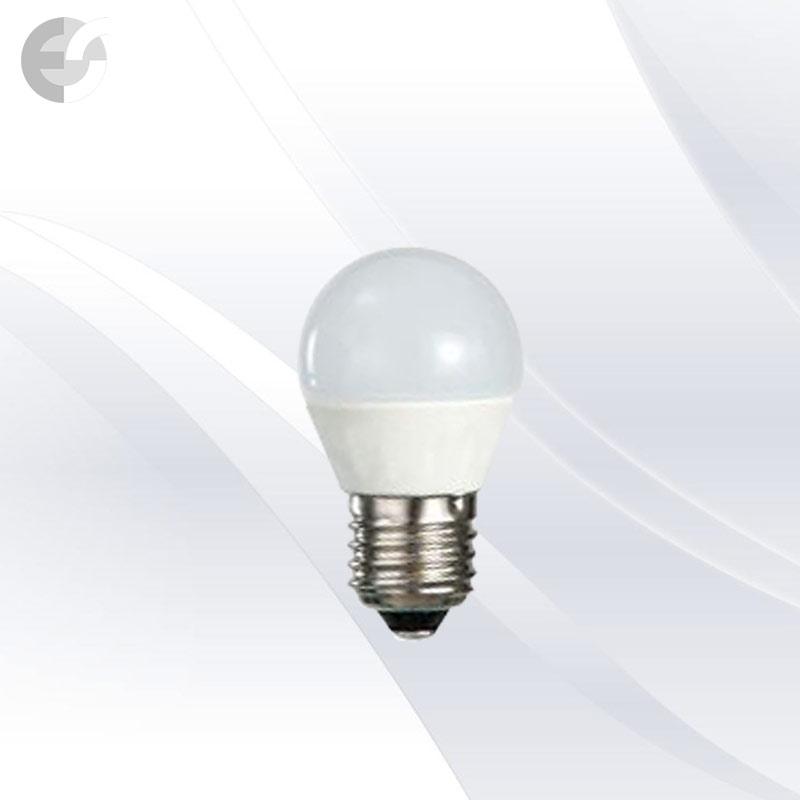 LED крушка 6W E27 500Lm 3000K сфера мини От Електро Стил ООД