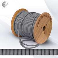 Текстилен кабел 2х0.75mm2 сив От Електро Стил ООД