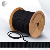 Текстилен кабел 2х0.75mm2 черен От Електро Стил ООД