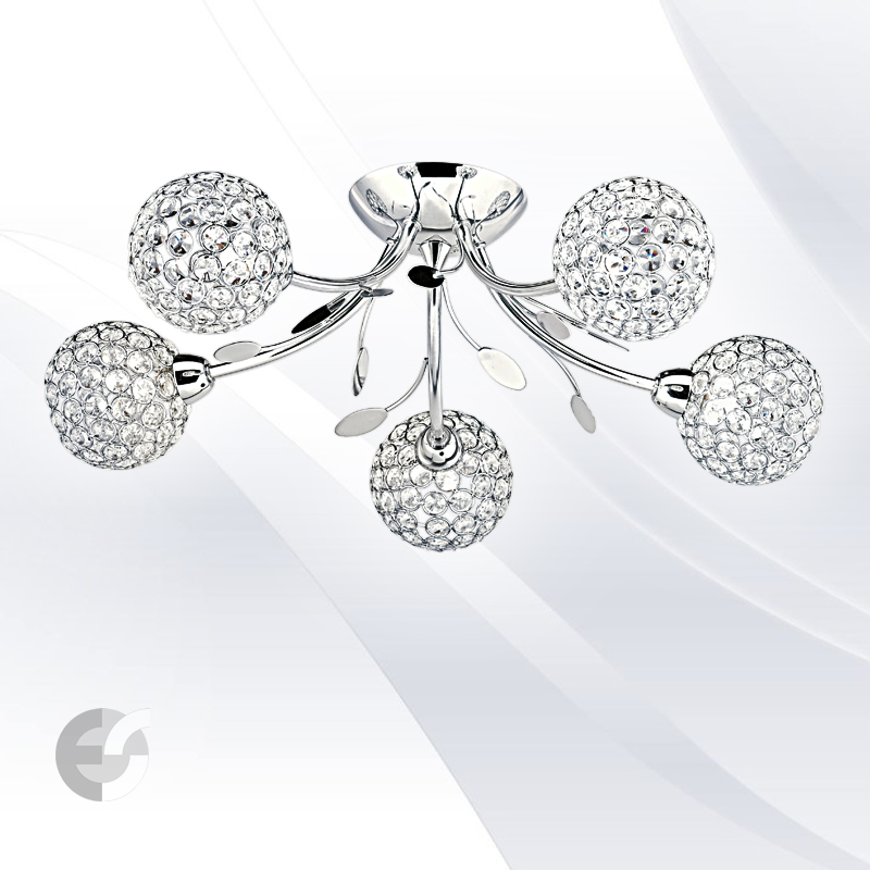 Plafoniere cristal BELLIS 6575-5CC