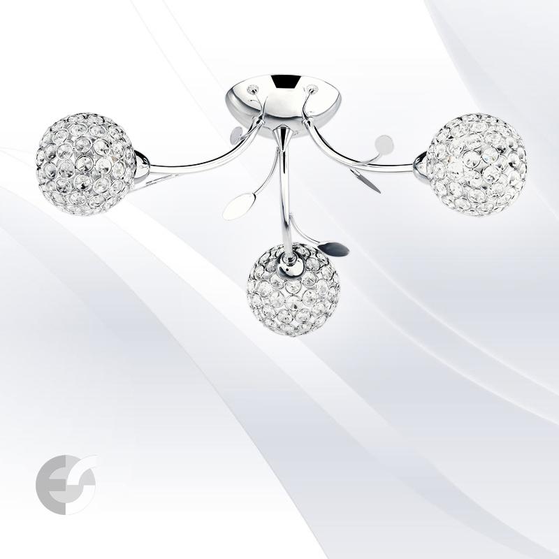 Plafoniere cristal BELLIS 6573-3CC
