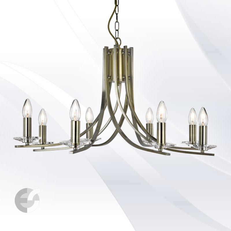 Lustra - corpuri de iluminat ASCONA 4168-8AB