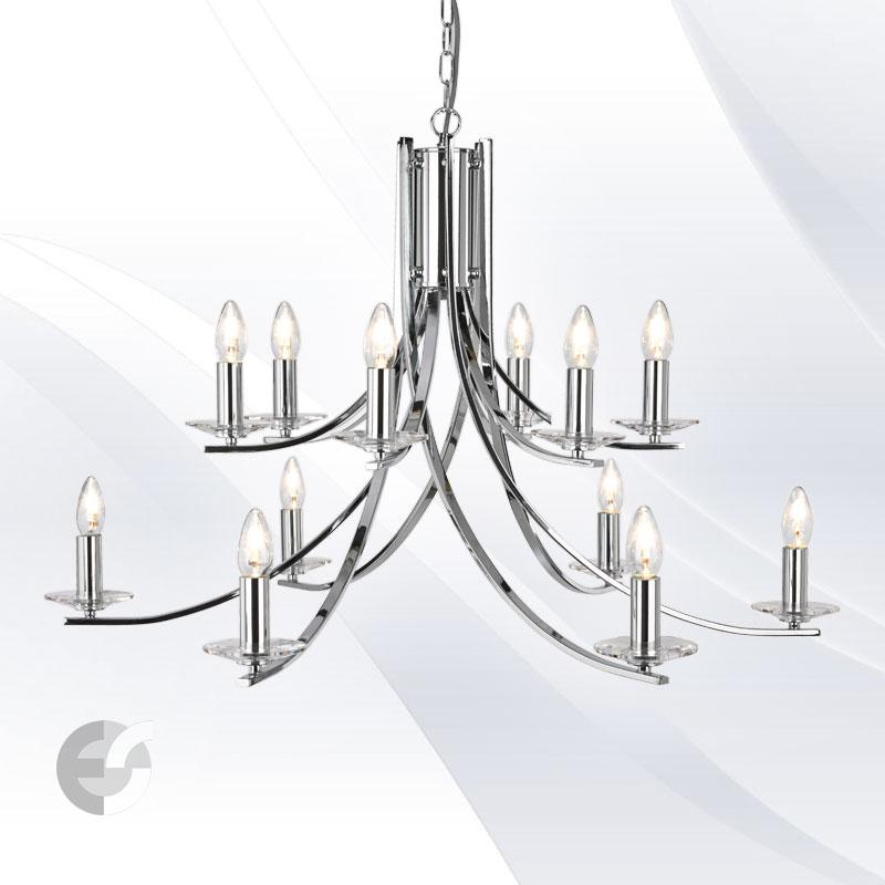 Lustra - corpuri de iluminat ASCONA 41612-12CC