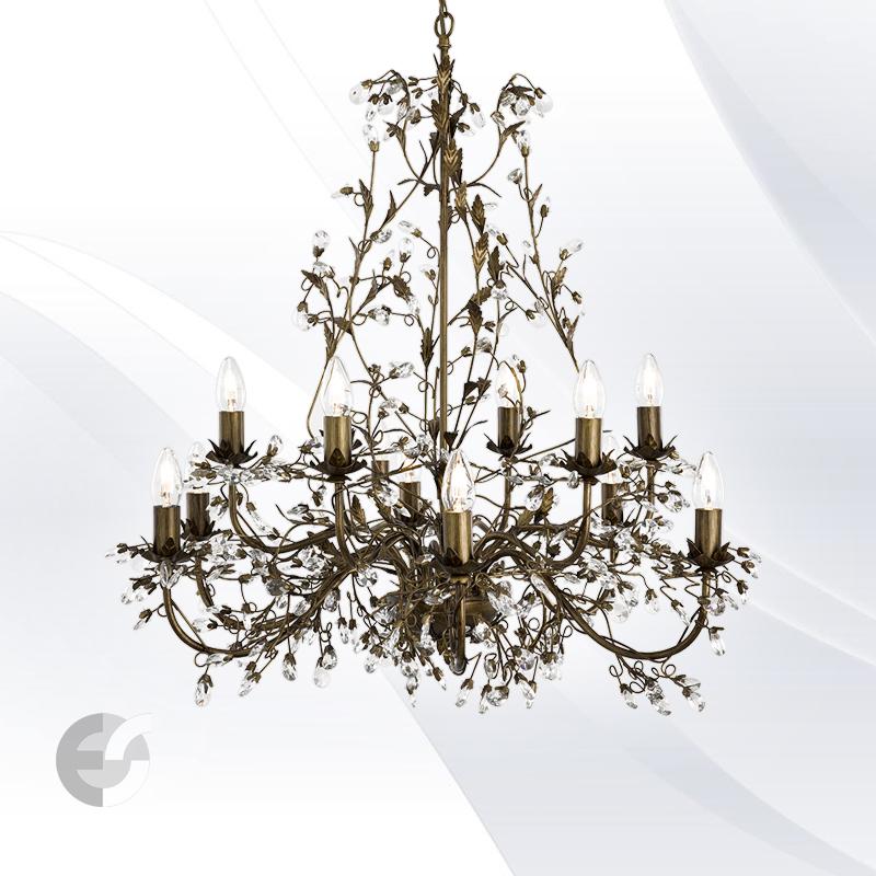 Lustra - corpuri de iluminat ALMANDITE 24912-12BR