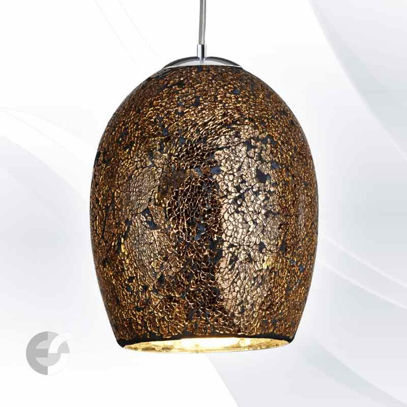 Lustra - corpuri de iluminat CRACKLE 8069BZ
