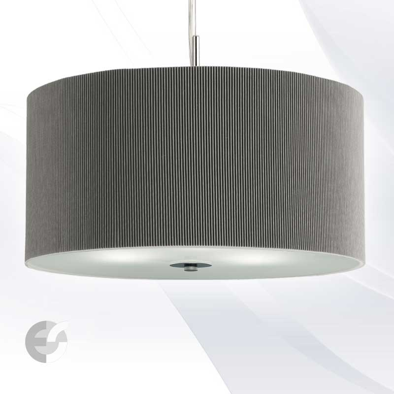 Полилей DRUM PLEAT PENDANTS 2356-60SI