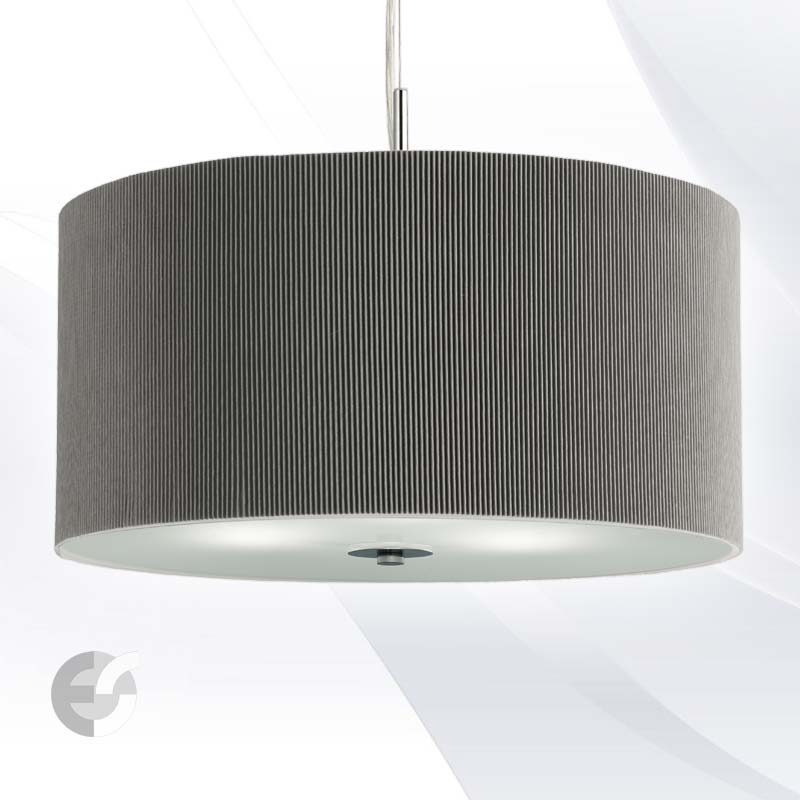 Полилей DRUM PLEAT PENDANTS 2353-40SI