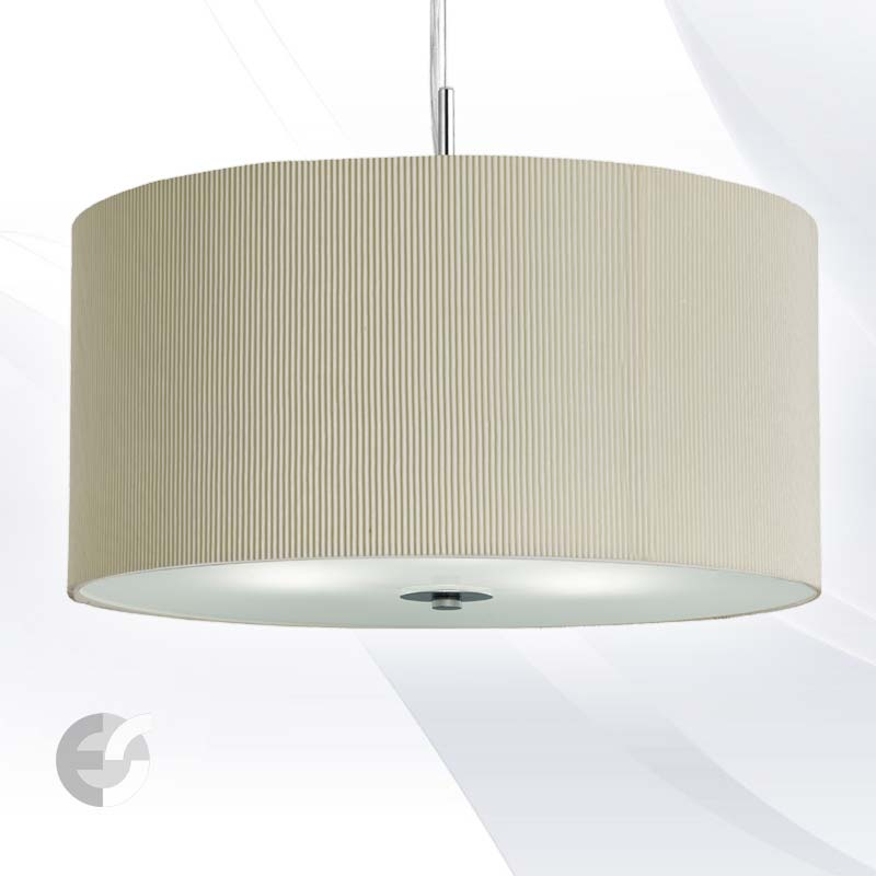 Полилей DRUM PLEAT PENDANTS 2353-40CR