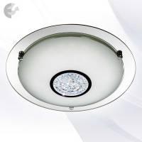 Плафон с кристали и LED осветление FLUSH От Електро Стил ООД