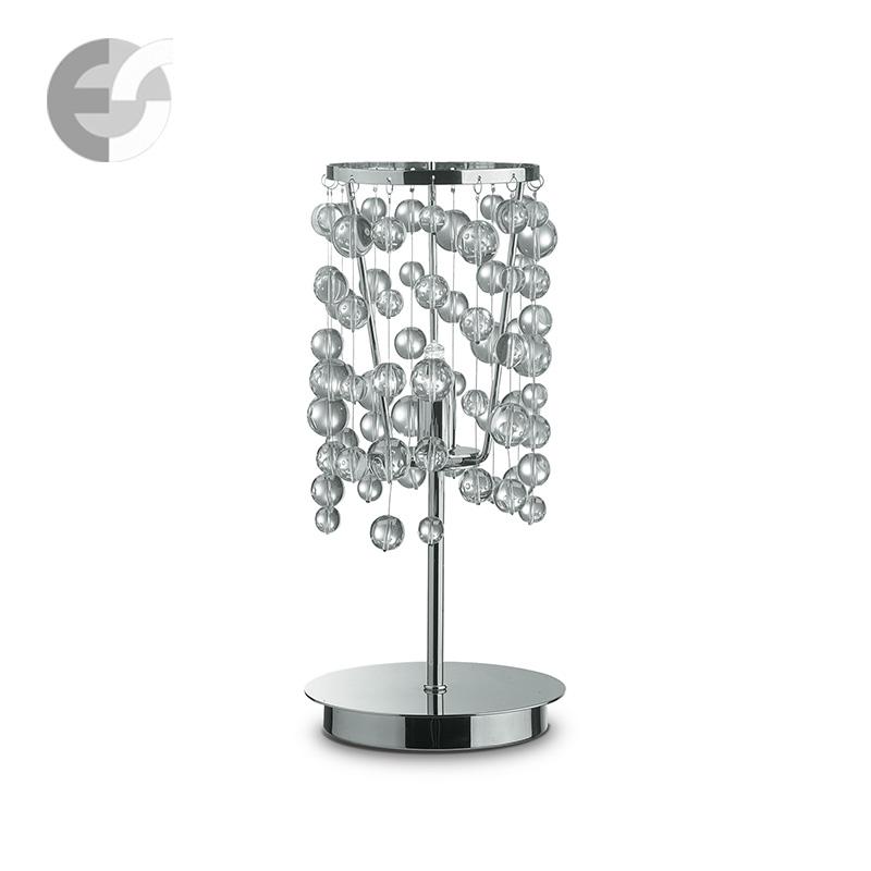 Настольная лампа с абажуром Золотой фазан СБ-73 Бронза