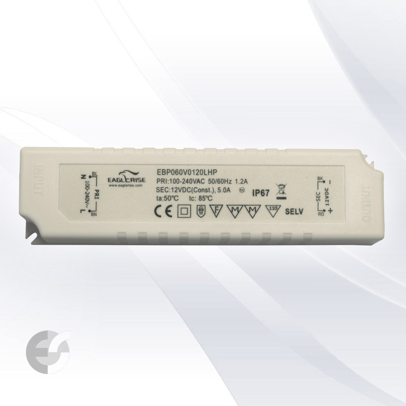 Влагозащитен LED драйвер 60W IP67(310060IP)