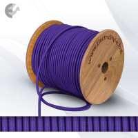Текстилен кабел 2х0.75мм2 лилав От Електро Стил ООД