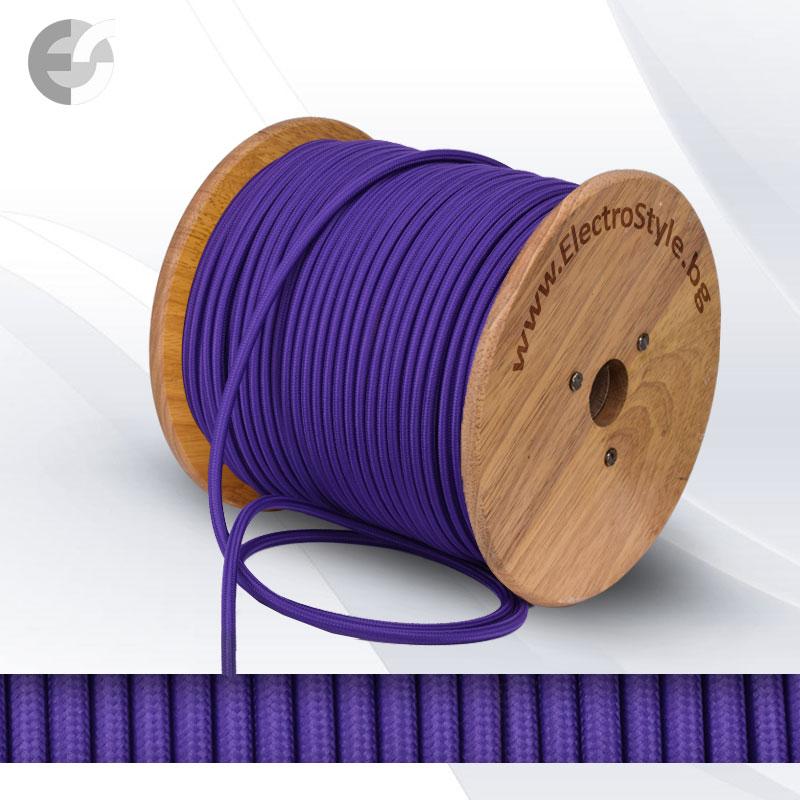 Cablu texti mov 2x0.75mm2  0527517