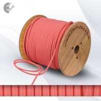 Текстилен кабел 2х0.75мм2 розов От Електро Стил ООД