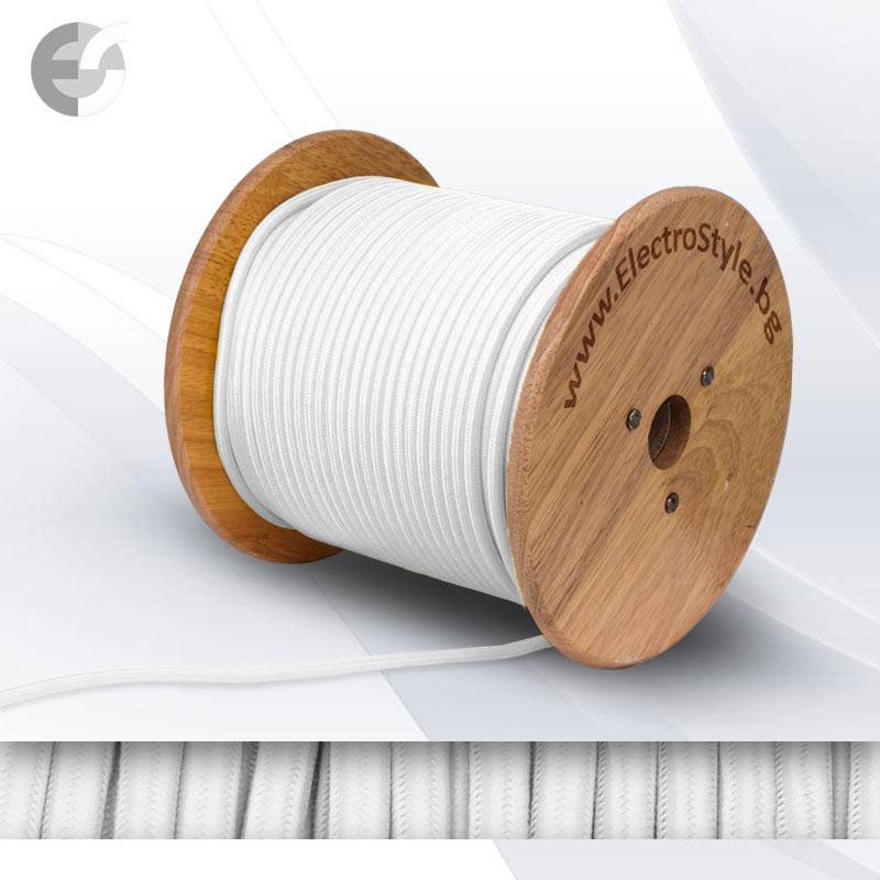 Cablu textil alb 2x0.75mm2 0527500