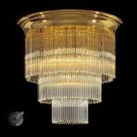 Плафон с кристали Art Deco От Електро Стил ООД