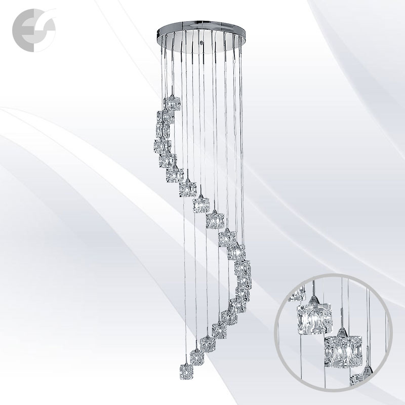 Lustra living - corpuri de iluminat ICE CUBE 7820-20-LED
