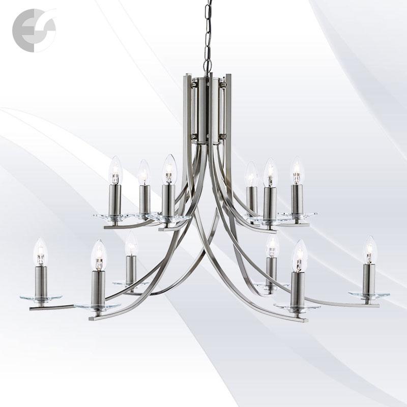 Lustra - corpuri de iluminat ASCONA 41612-12SS