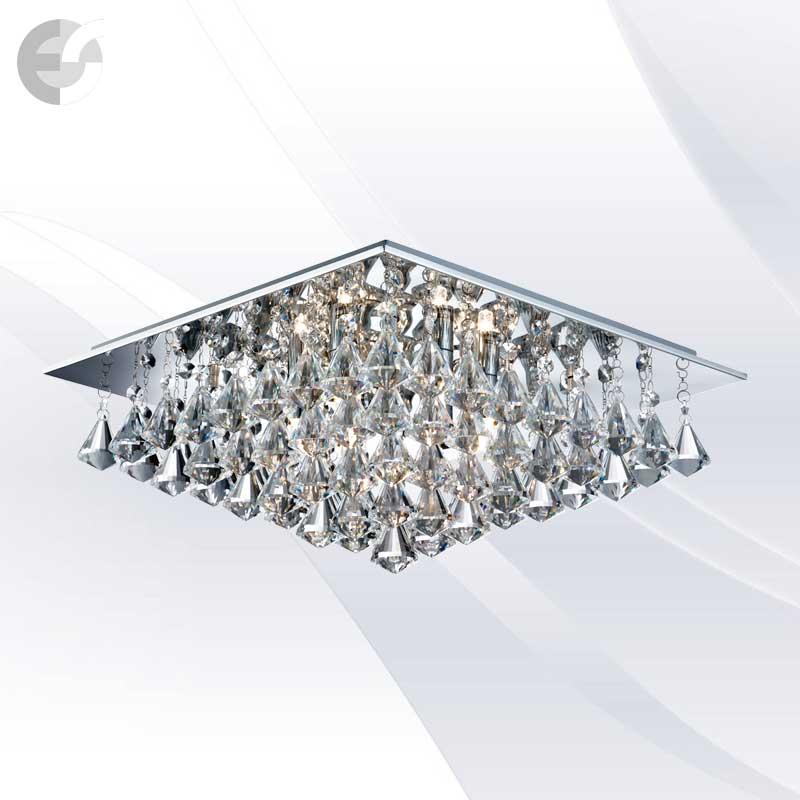 Plafoniere cristal HANNA 7306-6CC