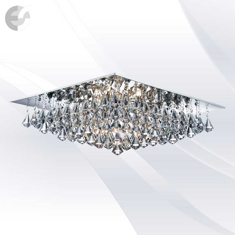 Plafoniere cristal HANNA 7308-8CC