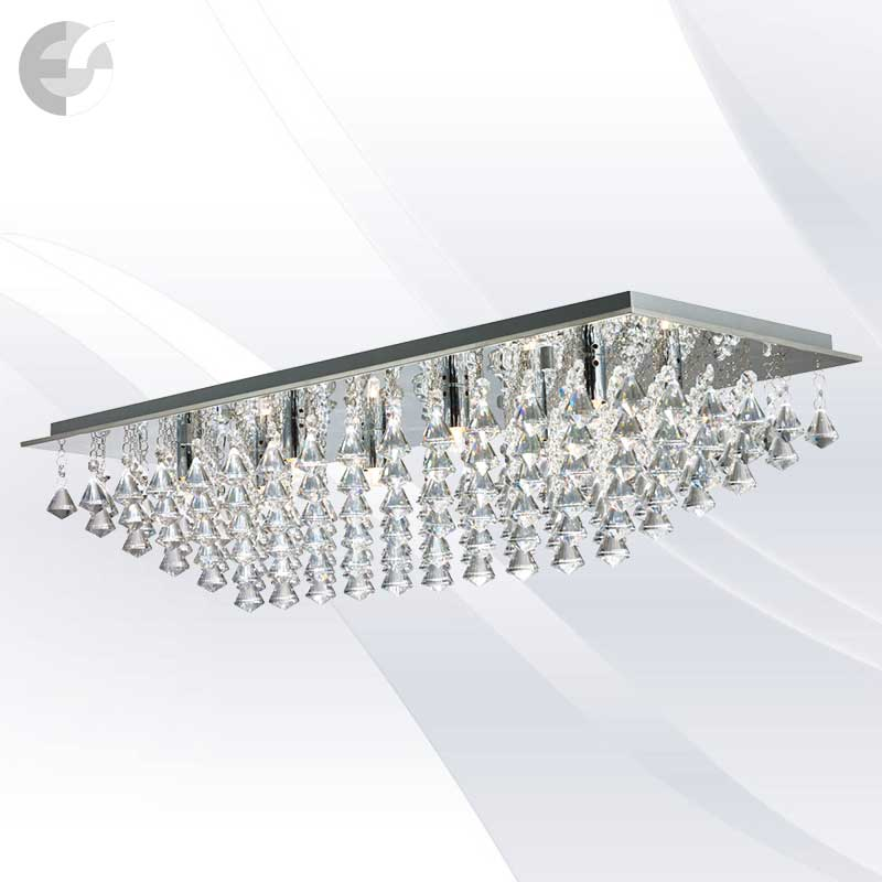 Plafoniere cristal HANNA 7828-8CC