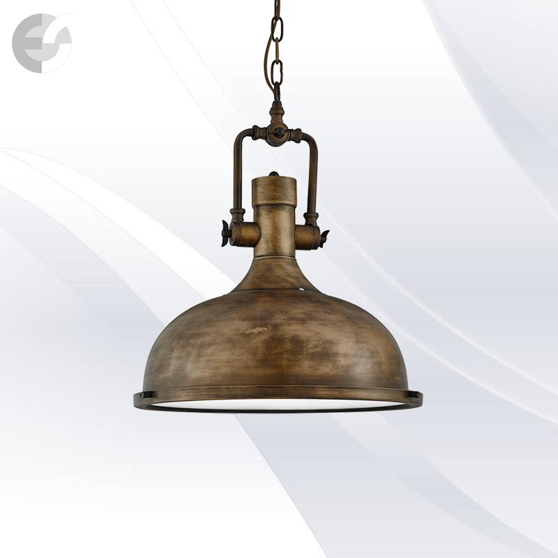 Lustra vintage INDUSTRIAL PENDANTS 1322BG