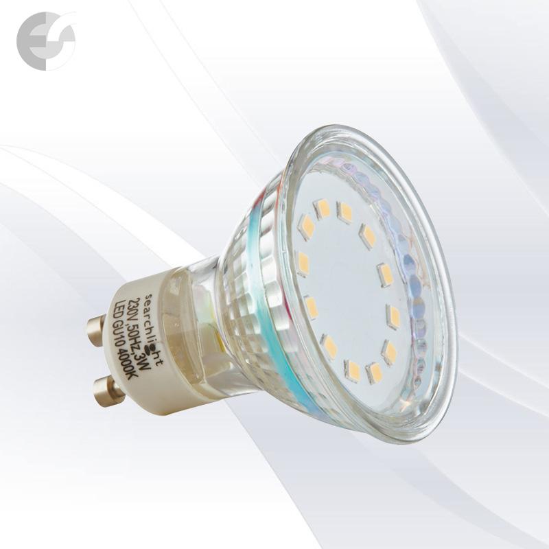 LED крушка 3W GU10 240 Lm - LED BULBS От Електро Стил ООД