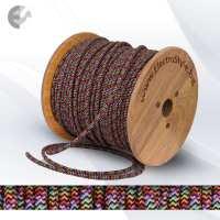 Текстилен кабел 2х0.75mm2 шарен От Електро Стил ООД