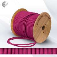 текстилен кабел 2х0.75mm2 цикламен От Електро Стил ООД