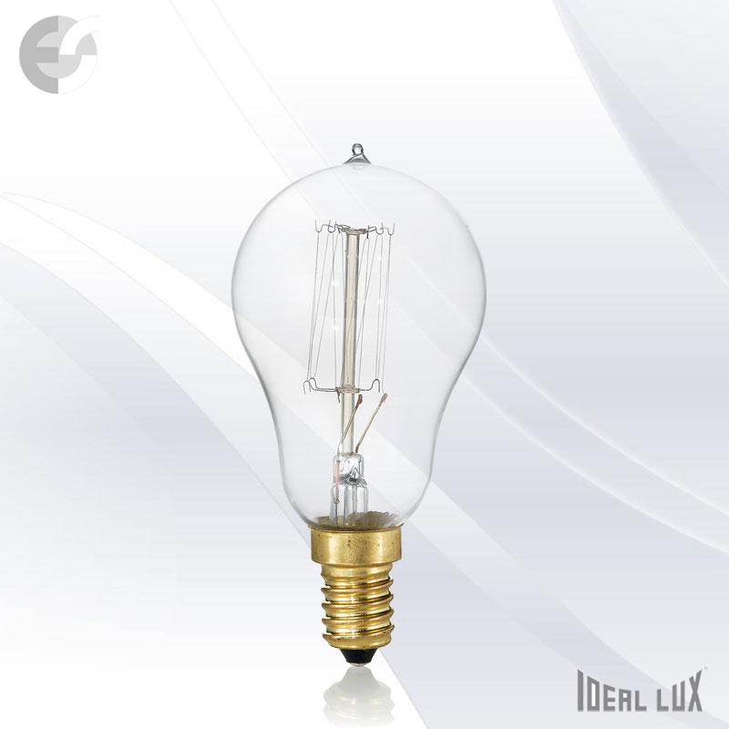 Декоративна крушка сфера 40W E14 2000K 130Lm От Електро Стил ООД