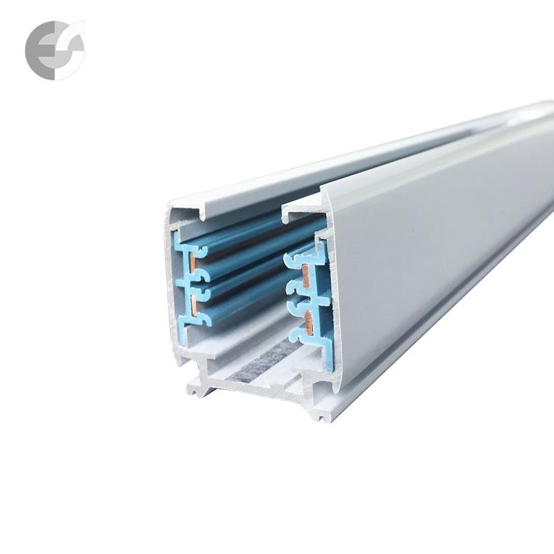 Тоководеща 4-линейна шина 1м Track System(3L04H1M-WH)
