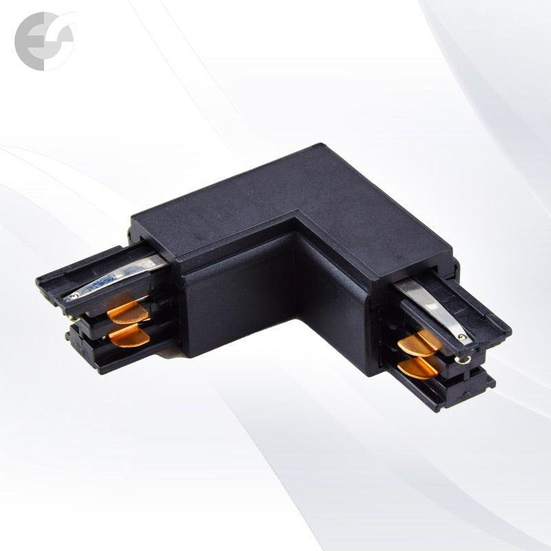 Съединител L за 4-линейна шина(3L04HL-BK)